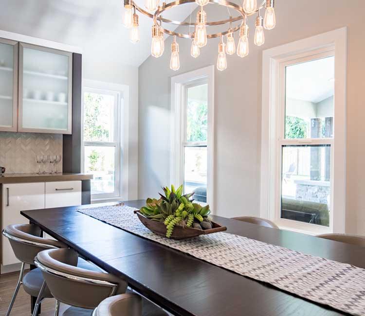 Modern dinning room
